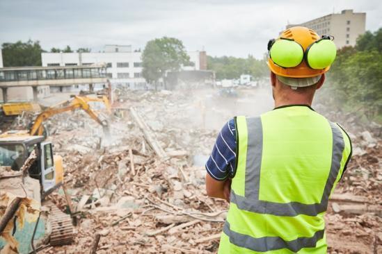 Destruction bâtiment  Argentan